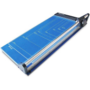Photo-Max Deluxe Series Rotary Paper Trimmer, 46cm , Royal Blue, Metal Base