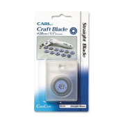CARL B-01 Replacement Blade - 28mm - Straight Style - Steel - 1 Each - Silver