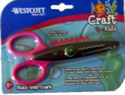 Wescott Black Snip Shark Craft Kids Scissors