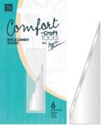 Comfort Craft Craft Knife Blades 6/Pkg-A - Pointed Tip