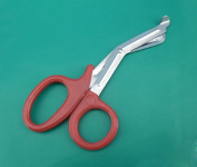 2 Pieces of EMT Utility Scissors Shears 14cm Red