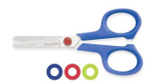 Mundial 667-KM Red Dot Kids 11cm Blunt-Tip School Scissors