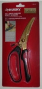 Husky 24cm Utility Scissors Stainless Titanium Coating