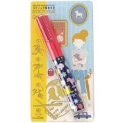 Sun-Star Stickyle Pen-Style Scissors - Toys