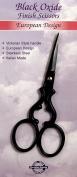 Tooltron Victorian Scissor, 8.9cm , Black