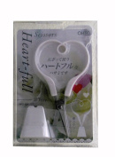 OHTO - Heart-Full Scissors - White W/Stand