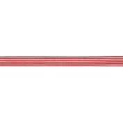 Variegated Stripes Grosgrain Ribbon 1.3cm X50 Yards-Red & White