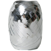 Silver Curling Ribbon Eggs - Sold individually