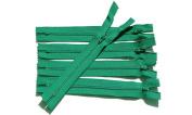 23cm Zipper Talon#3 Nylon Coil ~ Closed Bottom Each Colour Have 10 Zippers , Select Colour