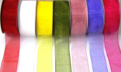 Coral Organza sheer Ribbon-25 Yards X 2.2cm