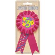 3rd Birthday Smile Award Ribbon