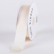 Antique White Satin Ribbon Single Face 1cm 100 Yards