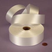 White Embossed Poly Satin Ribbon, 4433710