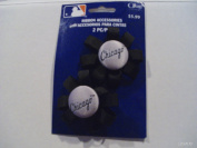 MLB Offray Chicago White Sox Ribbon Accessory With Button Centre
