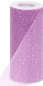 Offray Sparkle Tulle Craft Ribbon, 15cm by 25-Yard Spool, Lavender