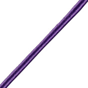 Venus Ribbon B00555-PURPLE 0.3cm Basic Soutache Braid, 12-Yard, Purple