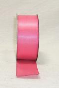 1cm By 100yd Single Face Satin Ribbon-shocking Pink