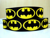 5 yards 7/8 NEW Batman Grosgrain Ribbon