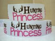 5 yards 7/8 Hunting Princess Grosgrain Ribbon