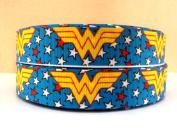 5 yards 7/8 Wonder Woman Grosgrain Ribbon