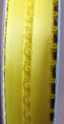 Offray Spool O' Ribbon Craft RIBBON TRIM Colour BRIGHT YELLOW Size 6 YARDS Long x 0.5cm Wide