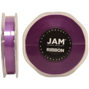 Purple Satin 1cm thick x 25 yards Spool of Double Faced Satin Ribbon - Sold individually