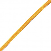 Venus Ribbon B047850-GOLD 0.5cm Rayon Middy Braid, 12-Yard, Gold