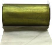Kel-Toy 2-Tone Sheer Ribbon with Cut-Edge, 15cm by 10-Yard, Yellow/Black