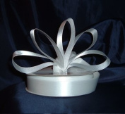 Ribbon - Satin Ribbon- 2.2cm Double Face 50 Yards (150 FT) - White - Sewing - Craft - Wedding Favours