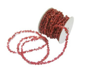 Renaissance 2000 Ribbon, 760cm , Garland, Ice Red