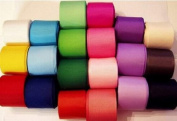 1cm grosgrain ribbon-25 colours x 5 yards each-total 125 yards