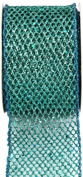 Kel-Toy Metallic Glitter Mesh Net Ribbon, 6.4cm by 10-Yard, Tiffany Blue