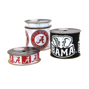 Offray University of Alabama Crimson Tide Printed Craft Ribbon Pack, 12-Yard