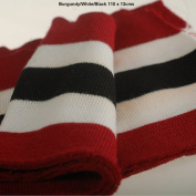 Stripes Pattern Knitted Waistband Rib Welt for Cuffs or Waist Band & Neck Band Ribs for Jackets, Bombers, or any Apparel Garments for Trimming