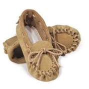 Leather Moccasin Kit by Tandy - size Adult 8/9.