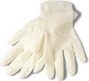 Mosaic Mercantile Gloves Latex, 2-Pair