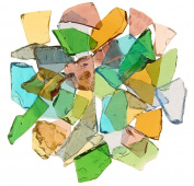 Mixed Colours Stained Glass Cobbles-70mls