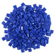 Jennifer's Mosaics 1cm Venetian Style Glass Mosaic Tile, Royal Blue, 240ml