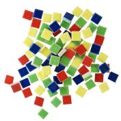 Jennifer's Mosaics 90ml 1cm Deco Ceramic Mosaic Tile, Assorted Colours