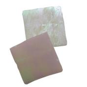 Jennifer's Mosaics 150ml White Iridescent Stained Glass Chips, White