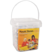 Aquastone Group Mosaic Stones, 1cm , Package of 1200, Assorted Colours