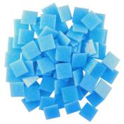 Jennifer's Mosaics 240ml Light Medium Blue 1.9cm Venetian Style Glass Mosaic Tile, Turquoise
