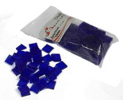 Spectrum Fusible Glass Chips 1.3cm Tiles Light Blue