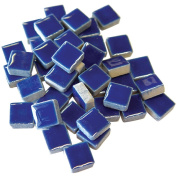 Jennifer's Mosaics 1-Pound 1cm Deco Ceramic Mosaic Tile, Royal Blue