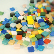 Jennifer's Mosaics 1cm Classico Mosaic Tiles Colour Variety, Assorted Colours, 1-Pound