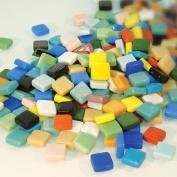 Jennifer's Mosaics 1cm Classico Mosaic Tiles Colour Variety, Assorted Colours, 1-Pound