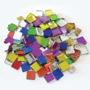 Jennifer's Mosaics 240ml Variety Mosaic Mirror Tile, Assorted Colours