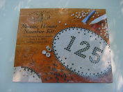 Mosaic House Number Craft Kit