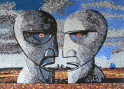 Pink Floyd By Storm Thorgerson Mural Mosaic Reproduction Magnificent Piece of Mosaic Stone Art Hand Made