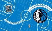 Turner NBA Dallas Mavericks Stretch Book Covers